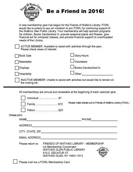 FOWL_membership_Form
